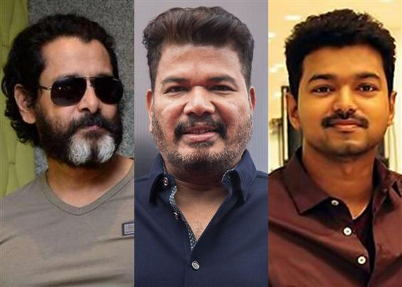 Vikram speaks about Shankar's film with Vijay!