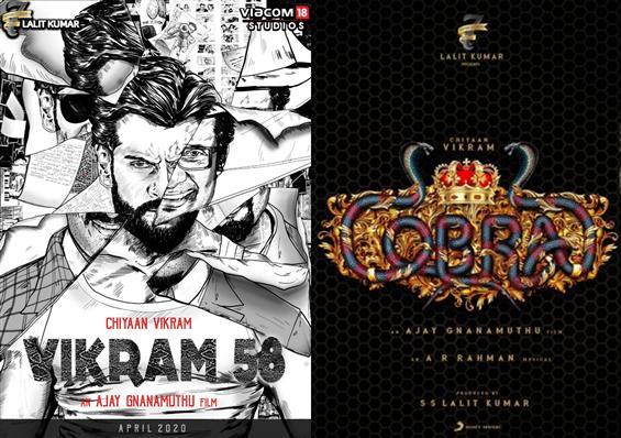 Vikram's Cobra for Ramzan!?