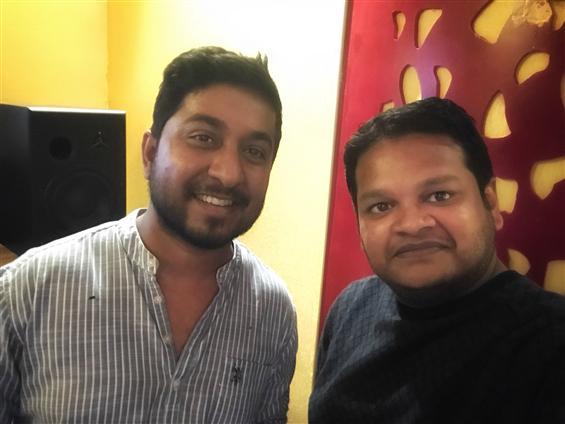Vineeth Sreenivasan sings for Ghibran's Aan Devadhai