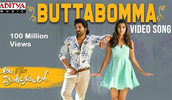 Viral Butta Bomma Song hits 100 Million Views on Y...