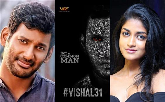 Vishal 31 begins shooting! Dimple Hayati makes Tam...