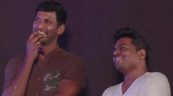 Vishal 31 resumes shooting at Hyderabad!