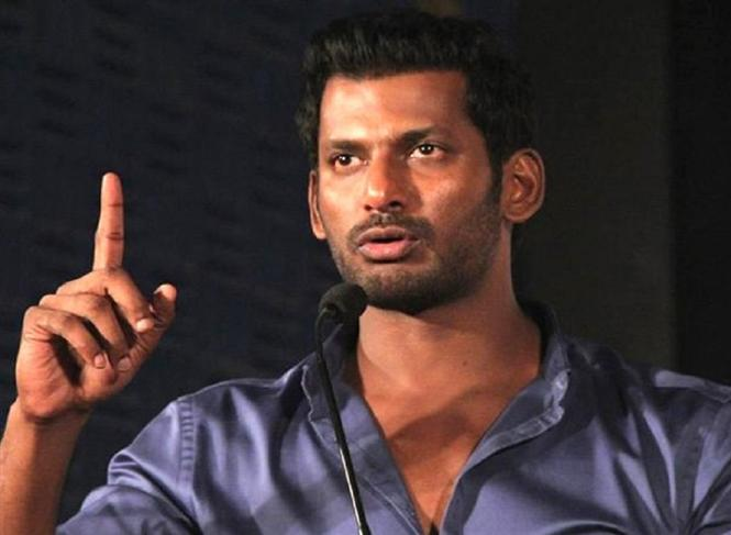 Vishal asks Theater owners to respect Tamil/Telugu movies in the same way they treat Hollywood movies