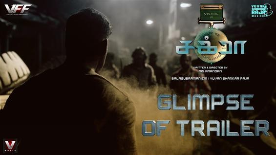 Vishal releases glimpse of Chakra Trailer!