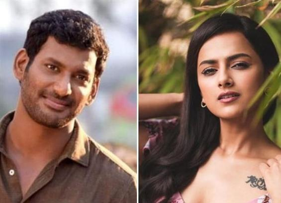 Vishal, Shraddha Srinath to play uniformed officia...