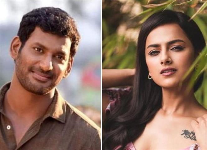 Vishal, Shraddha Srinath to play uniformed officials in their next!
