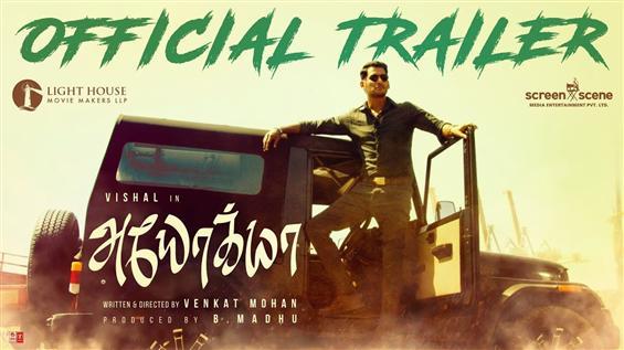 Vishal's Ayogya Trailer