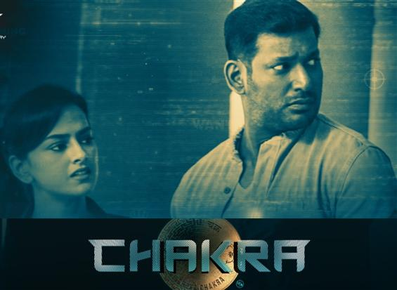 Vishal's Chakra release stayed by Madras HC once again!