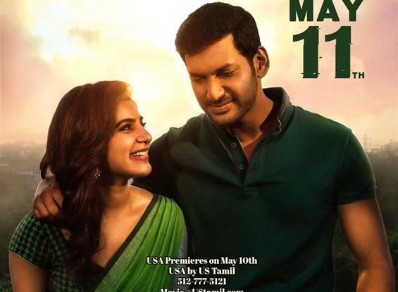 Vishal's Irumbu Thirai Trailer