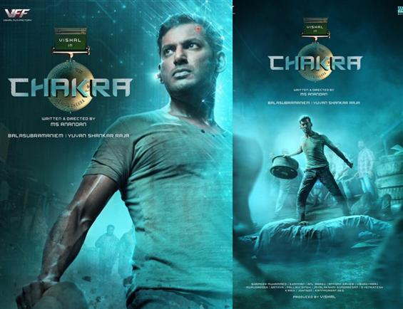 Vishal's next titled Chakra! First Look Out!