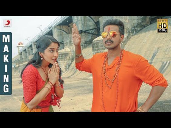 Vishnu Vishal, Regina Cassandra gives us BTS action in Silukkuvarpatti Singam Making Video