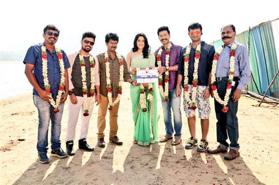 Vishnu Vishal Studioz' Production No. 3 begins with an official pooja