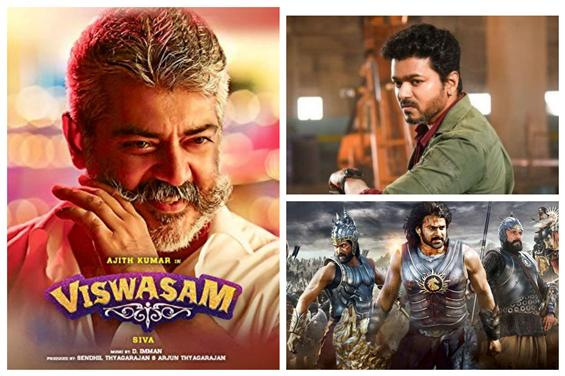 Viswasam creates a new TRP record suprassing Baahubali, Sarkar!