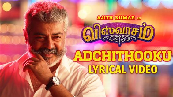 Viswasam First Single Adchi Thooku