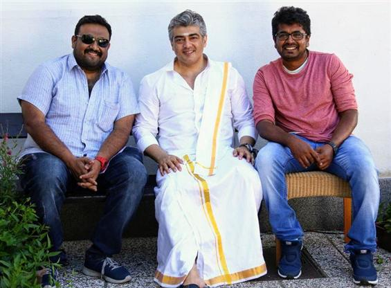 Viswasam Second Look out tomorrow