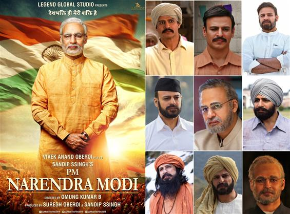 Vivek Anand Oberoi's Nine Different looks for PM N...