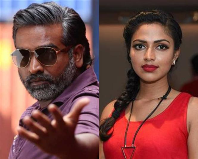 VSP33: Amala Paul no longer Vijay Sethupathi's heroine!