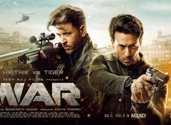 War Box Office: Hrithik Roshan, Tiger Shroff's film remains super-strong on Day 2