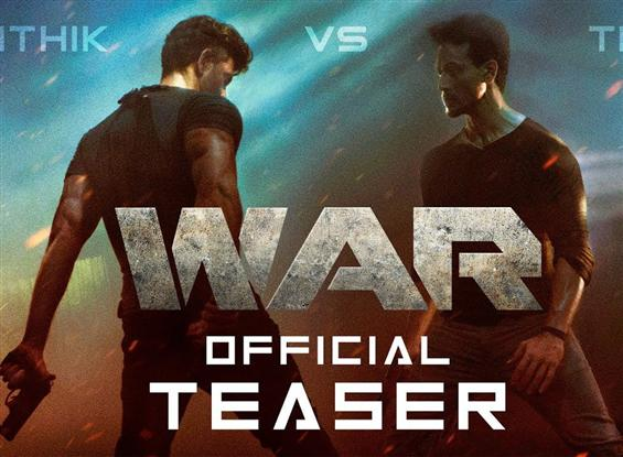 War Teaser: Hrithik Roshan pitted against Tiger Sh...
