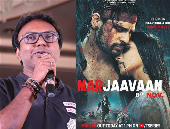 'Was not aware they'd use Viswasam BGM': Imman speaks up on Marjaavaan Trailer!