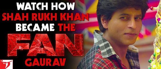 Watch Shah Rukh Khan astonishing journey from superstar to a Fan