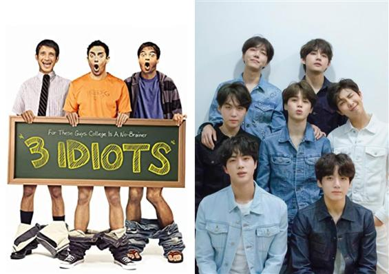 When 3 Idiots' Makers Thanked K-pop Band BTS!