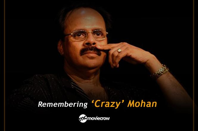 When Crazy Mohan made word-play humorous in Tamil movies!