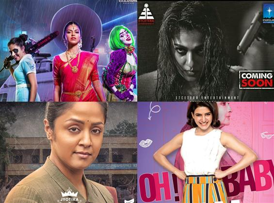 Women rule the July, 2019 roost in South Indian Cinema!