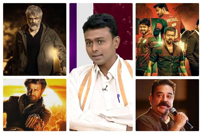 World Cup Fame Astrologer Balaji predicts Tamil Actors' Future & Upcoming Movie Results