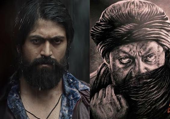 Yash, Sanjay Dutt announce KGF 2 First Look Releas...