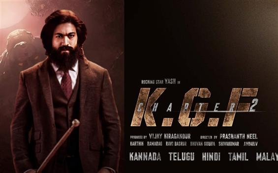Yash's KGF Chapter 2 to soon get a third release date!