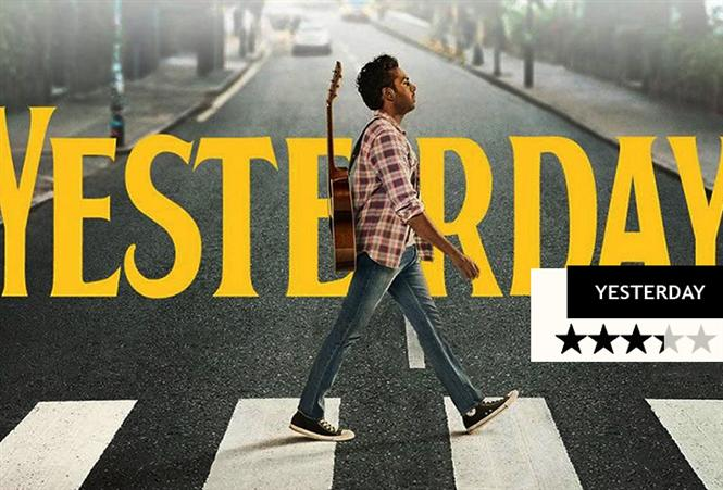 Yesterday (English) Movie Review - A well etched out music driven fantasy film!