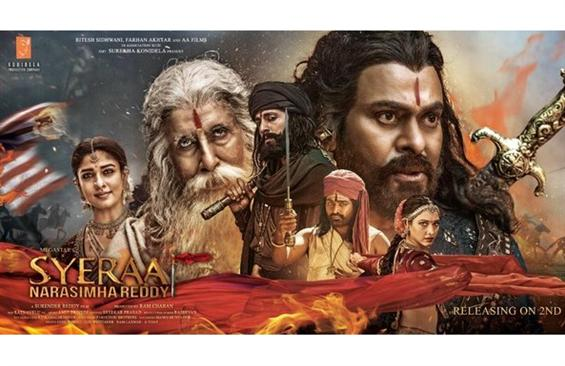 Zee TV bags Sye Raa Narasimha Reddy Satellite Rights for a record price!