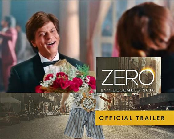 Zero Trailer: Shah Rukh Khan is unabashed like never before in Anand L Rai's movie!