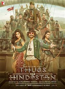 Thugs of Hindostan - Movie Poster