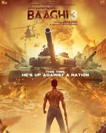 Baaghi3 - Movie Poster