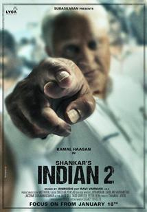 Indian 2 - Movie Poster